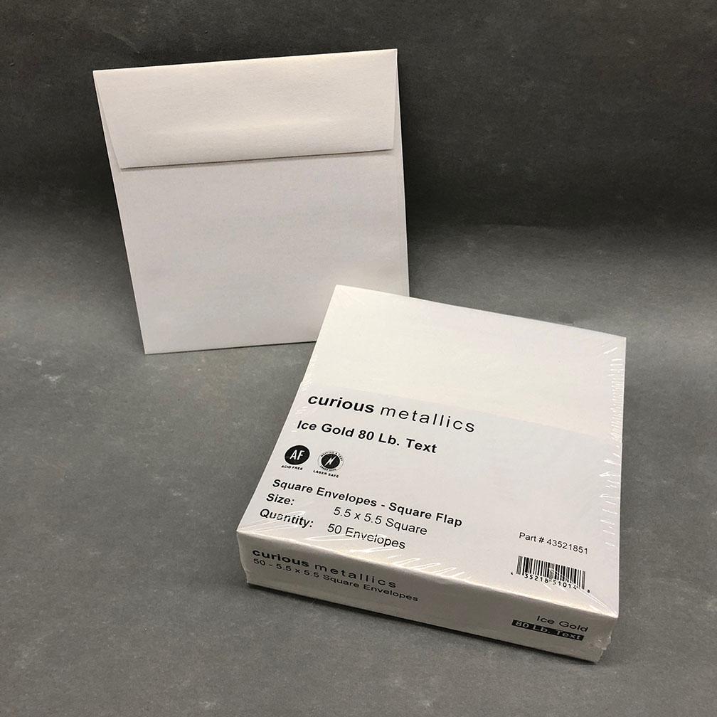 metallic square 5 5