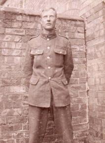 A British soldier