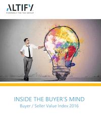 Inside the Buyer's Mind: Buyer / Seller Value Index 2016