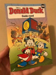 Donald Duck Pocket 256 Code rood