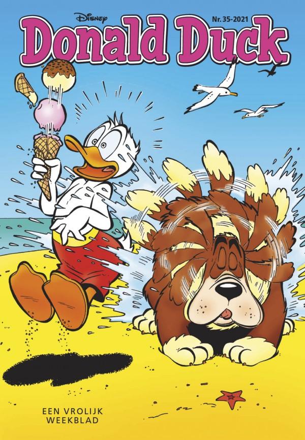 Deze week in Donald Duck weekblad 35 (2021)