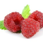 Raspberries contain resveratrol