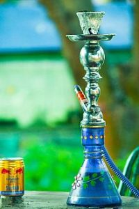 Hookah in restaurtant in Nepal
