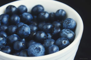 Blueberries are rich in antioxidants