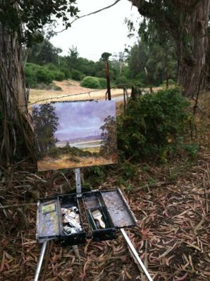 Painting Elkhorn Slough