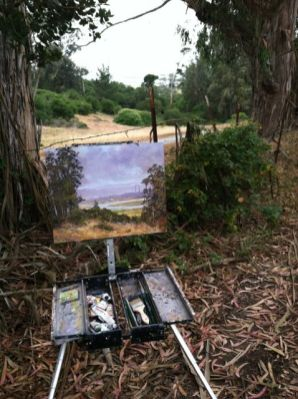 Painting Elkhorn Slough