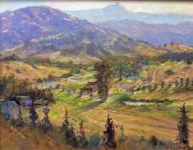 Almaden Valley, 16x20