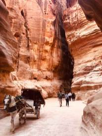 Walking through the Siq