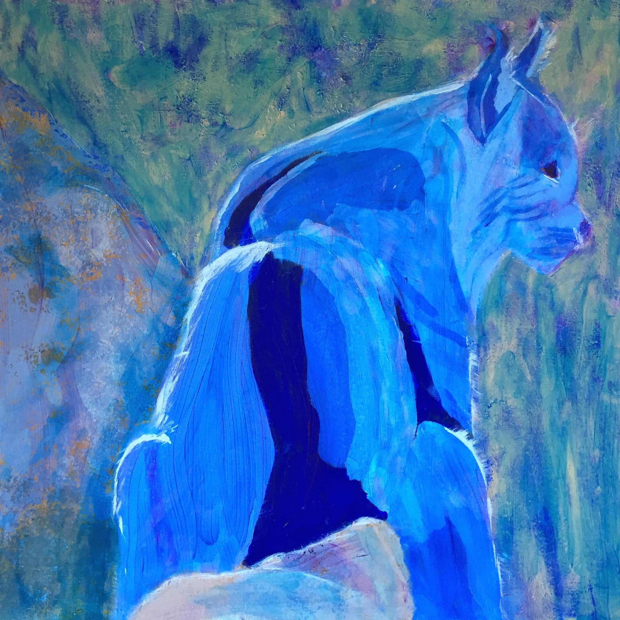 Mountain Bobcat - Original for Sale - Prints Available