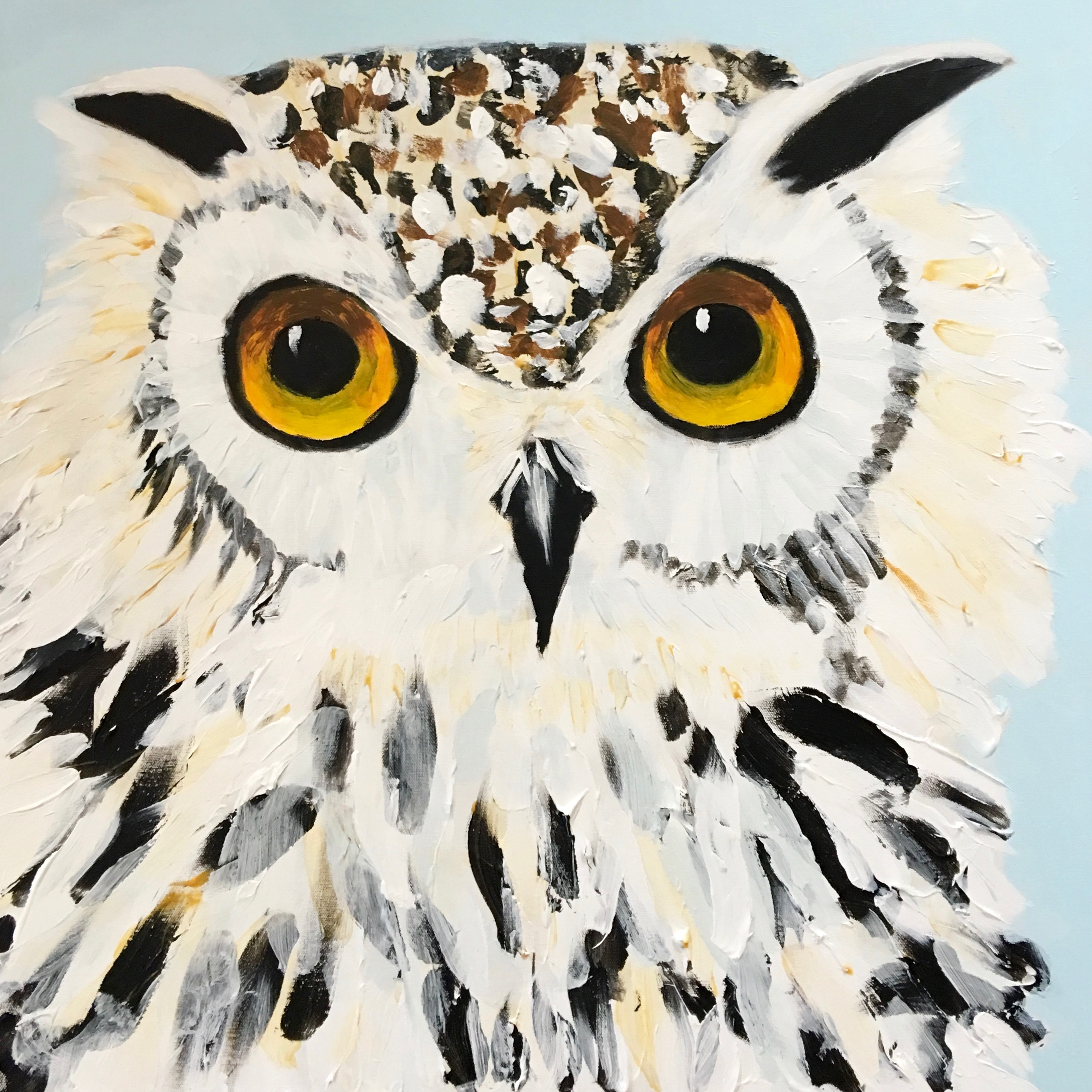 Snow Owl - SOLD - Prints Available