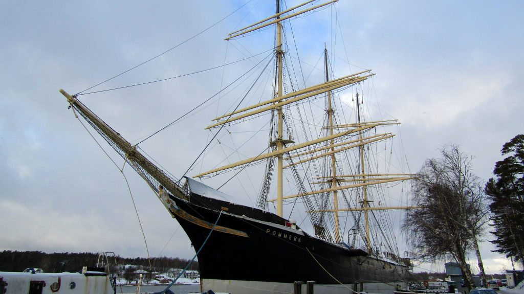THE MUSEUM SHIP POMMERN
