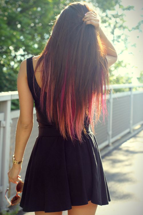 colorful tips of homemade