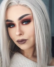 diy silver hair dyeing