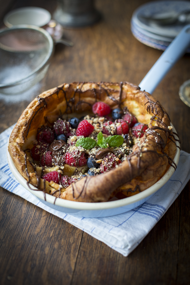 Dutch Baby Pancakes | DonalSkehan.com, Pancakes just got pimped!