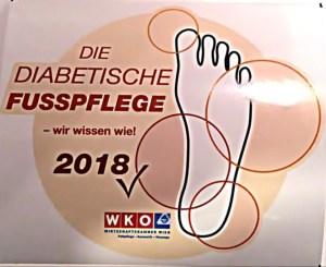 Diabetische Fußpflege Auffrischung 2018