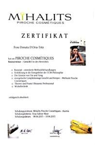 Piroche Basis 1 Zertifikat