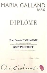 Soin Profilift Diplom