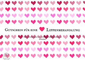 Valentinstag Gutschein
