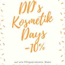 DD' Kosmetik Day's -10% Aktion