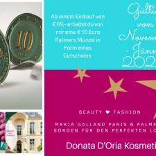 Maria Galland Paris & Palmers Aktion