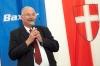 G. Baxter Grundsteinlegung mit BM Dr. Michael Häupl