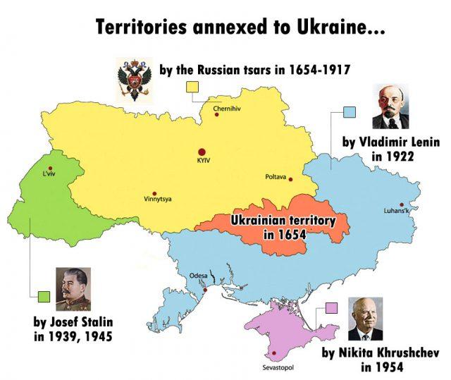 Carte de l'Ukraine