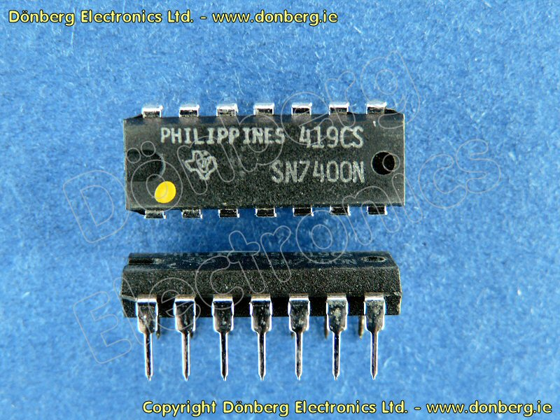On Semi Sn74ls00 4 Independent 2 Input Positive Nand Gates Datasheet