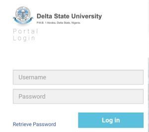 delsu direct entry Admission form