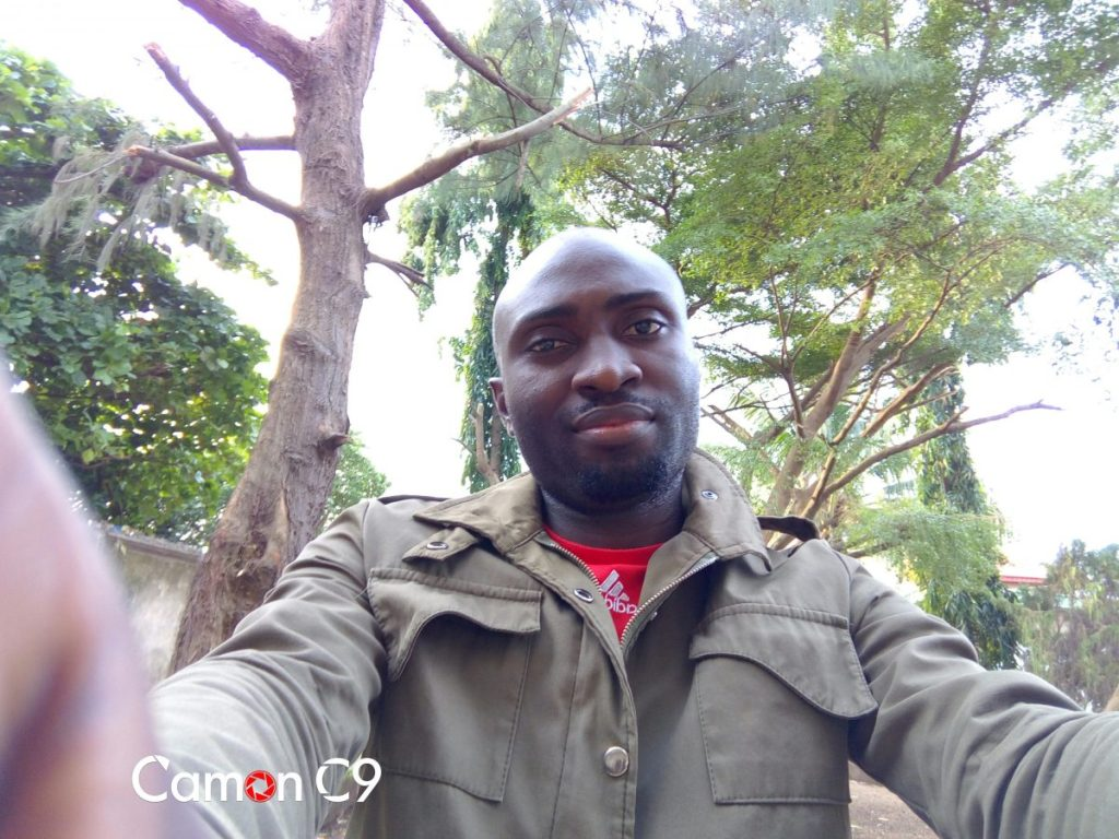 camon c9 sample selfie