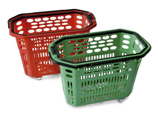 Cesta Supermercado con Ruedas