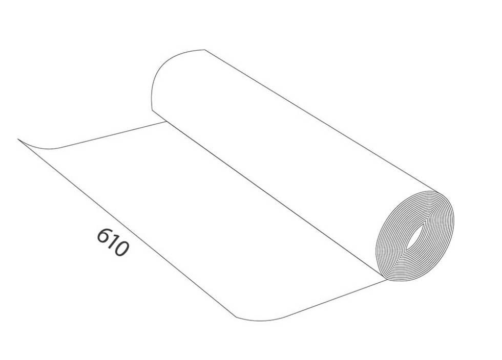 Rollo magnético de pvc blanco medidas