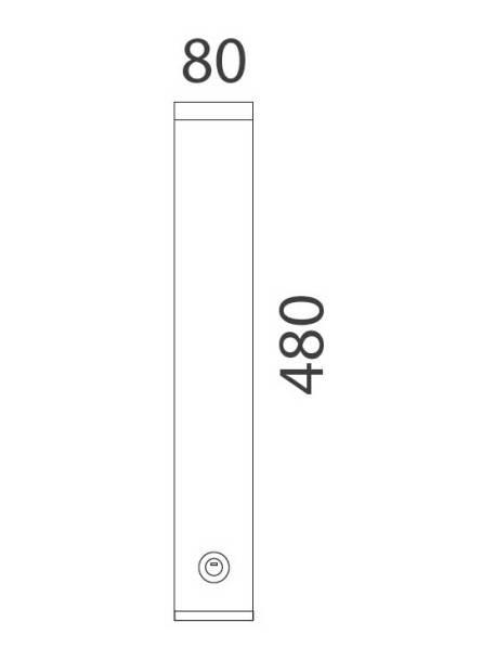 Ceniceros de pared 13287 medidas