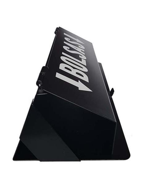 Dispensador de bolsas lateral negro