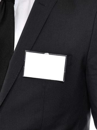 Porta tarjeta con clip