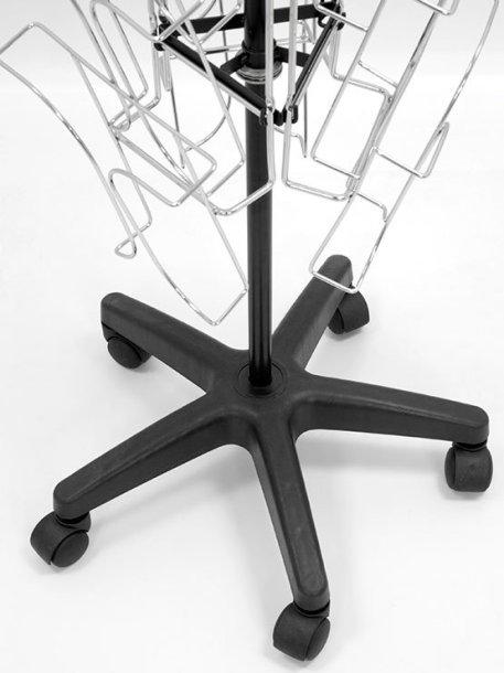 PortaCatálogos con Ruedas modelo Nelas detalle