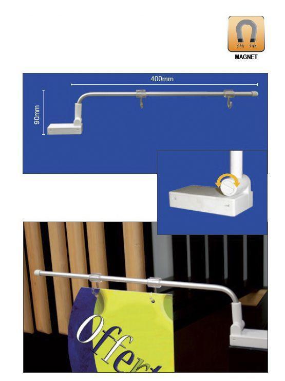 Soporte clip magnético para promociones