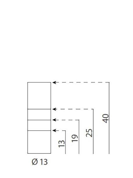Soportes metálicos para letreros medidas 13