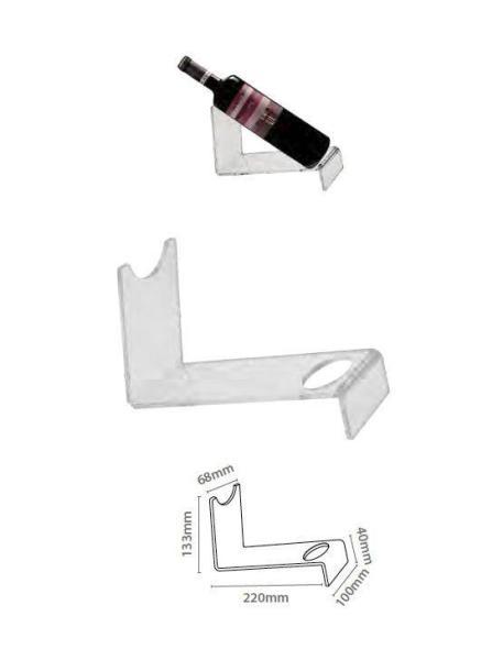 stand acrilico para botella imagen 2