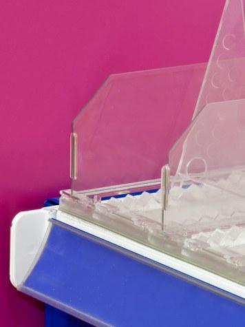 Divisor Plástico Transparente 60 mm de altura 2018