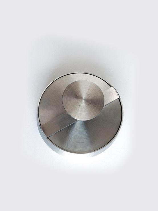 Hamburguesera Circular inox vista cenital