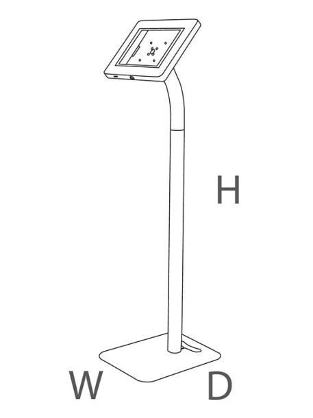 Soporte tablet 2 en 1 medidas