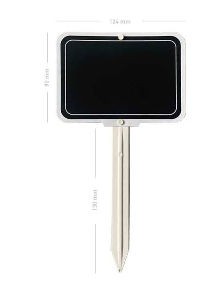 Cartel pizarra con paleta porta precio pizarra para rotuladores efecto tiza medidas