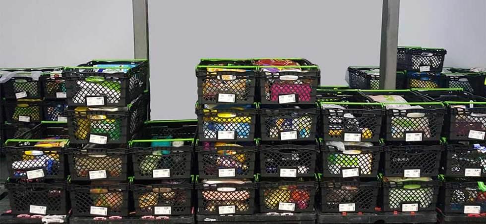 Cajas apilables de plástico ejemplo 1