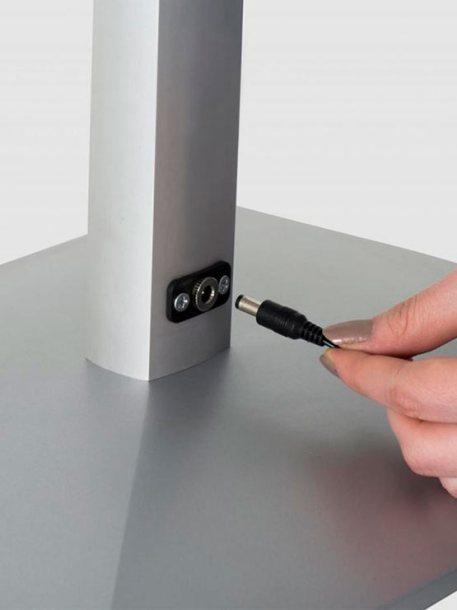Porta Menú LED conexión luz led