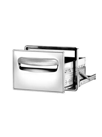 Cajón frigorífico simple en acero inoxidable