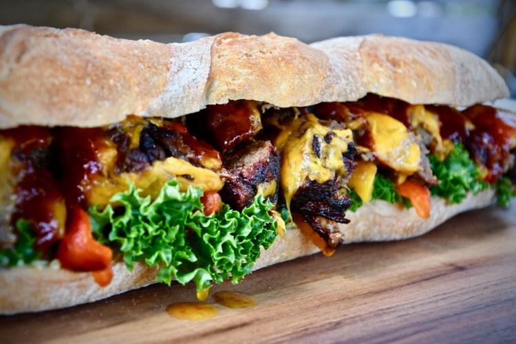 Chuck Roll Sandwich
