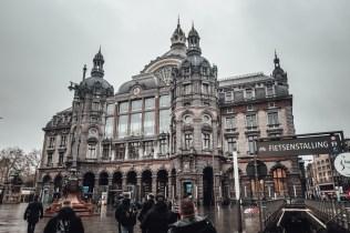 Der Hauptbahnhof in Antwerpen