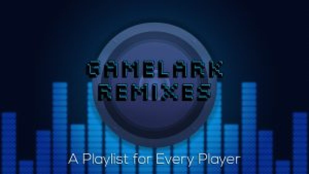 banner for GameLark Remixes, graphic Design, facebook, twitter, youtube,