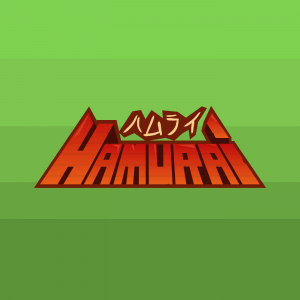 hamurai logo, final, game art, mobile game