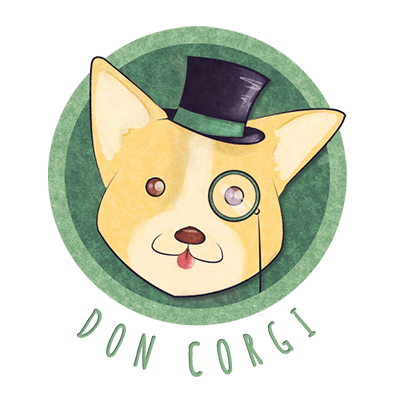 How to Draw Step by Step with Don Corgi - Logo